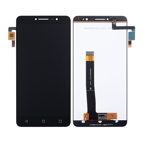 Alcatel One Touch A3 XL 9008X 9008D Screen Replacement (White/Black) (OEM)