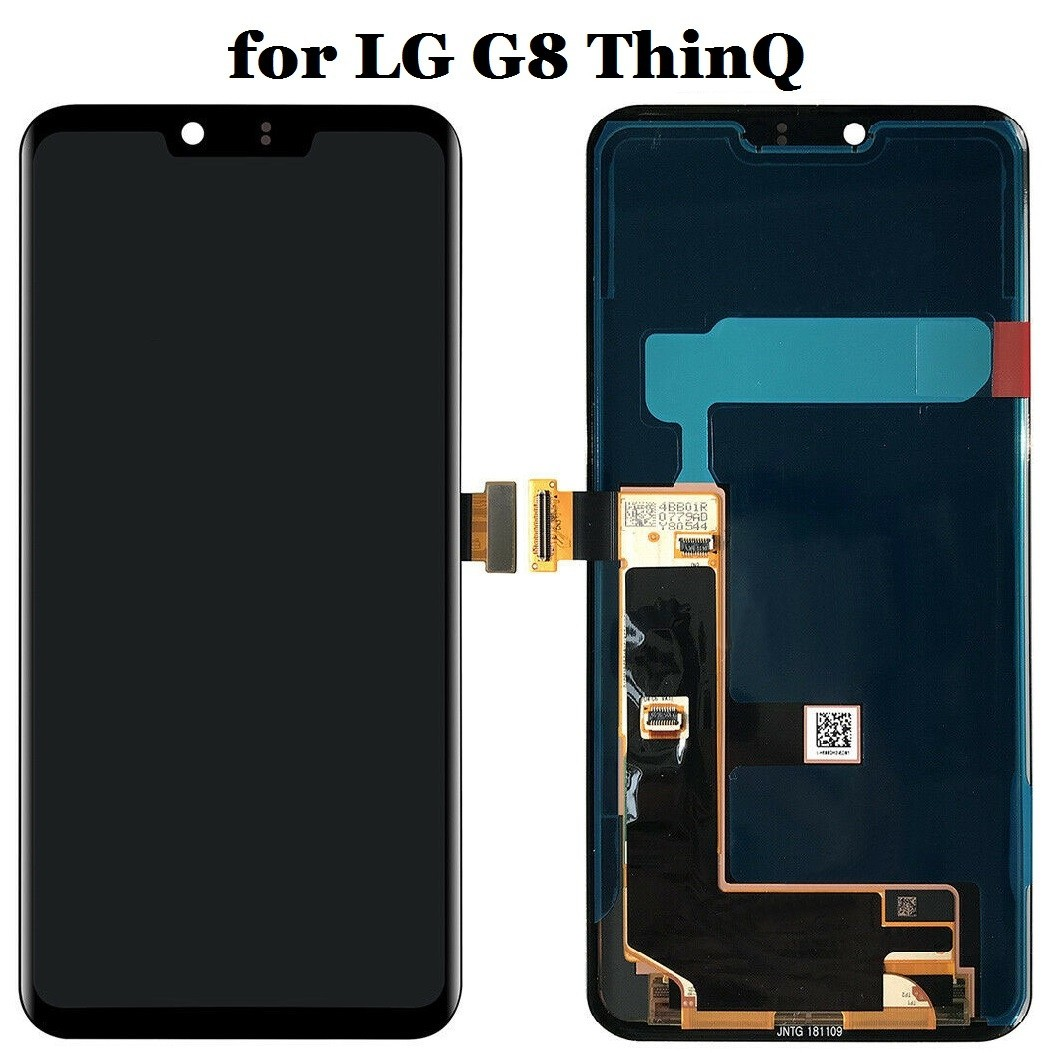 LG G8 ThinQ Screen Replacement (Black) (OEM)