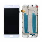 ASUS ZenFone 4 Max 5.2 ZC520KL Screen Assembly with frame (White/Black) (OEM Used) - frame optionaled