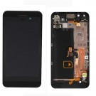 BlackBerry Z10 LCD Screen Digitizer Assembly With Frame 4G Version - Black - Full Original