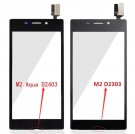 Sony M2 Aqua LTE D2403 Digitizer Touch Screen White/Black (High Copy)