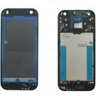 HTC One Mini Front Housing with Bottom Cover - Black Original