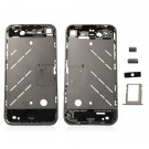 iPhone 4 Middle Cover With Small Parts Black Original