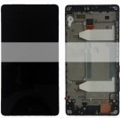 ZTE Nubia Z9 Max NX510J NX512J LCD Screen and Digitizer Assembly with Frame - Black - Full Original