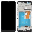 LG K22 Screen Assembly with Frame (Black) (Original)