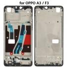 OPPO A3/F7 Front Housing LCD Frame Bezel Plate (Black) (OEM)