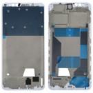 OPPO R11s Front Housing LCD Frame Bezel Plate (White/Black) (OEM)