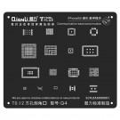 Qianli 3D Black Communication Base Band Reballing Stencils (MOQ:20 PCS)