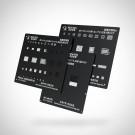 Qianli MEGA-IDEA Black CPU Reballing Stencil For iPhone (MOQ:24 PCS)