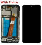 Samsung Galaxy A01 A015F Screen Replacement with Frame (Black) (Original)