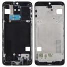 Samsung Galaxy A40 Front Housing LCD Frame Bezel Plate (Black) (Original)