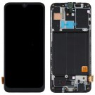 Samsung Galaxy A40 Screen Assembly with Frame (Black) (TFT)