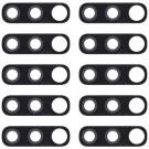 Samsung Galaxy A70 Back Camera Lens (Black) 10 PCS