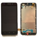Huawei Ascend G620S LCD Assembly with Frame - Black - Full Original