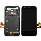 Nokia Lumia 620 LCD Screen and Digitizer Assembly with Frame - Full Original