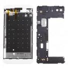 BlackBerry Z10 Rear Housing Assembly (4G Version) - White Original