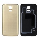 Samsung Galaxy S5 Battery Door (Water-proof Gasket) - Gold- With Samsung Logo Only