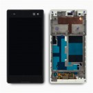 Sony Xperia C3 Screen Assembly with Frame (Black) (Premium)