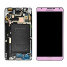 Samsung Galaxy Note 3 N9005 Screen Assembly with Frame (Pink) (Premium)
